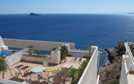 Apartments with magnificent views of the sea in Benidorm!