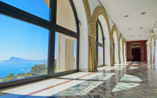 Luxury, colonial style House in Altea Hills with an exeptional sea views!