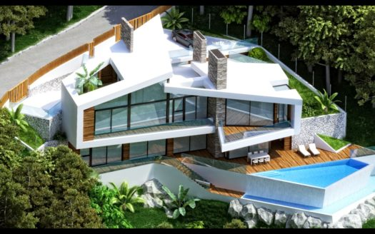Hi-Tech style House in Altea Hills - stylish, modern, beautiful and comfortable!