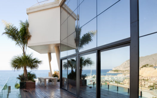 Incredible waterfront Altea Beach home!