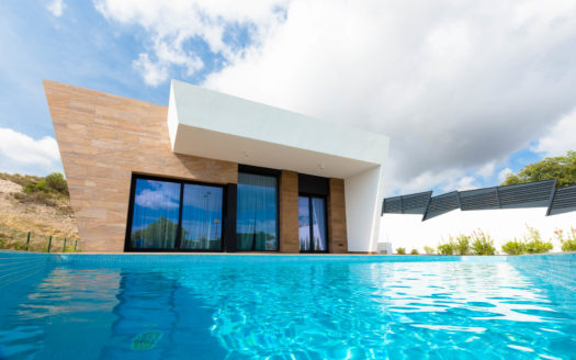 New large modern Villa with beautiful views in Benidorm!