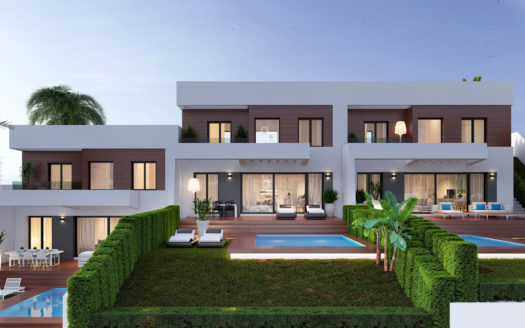 Luxurious, modern and bright terraced Villas in Benidorm!