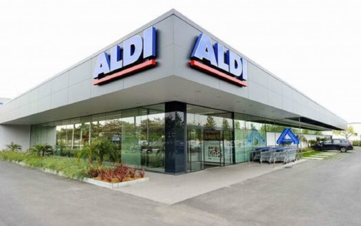 Newly built ALDI supermarket in Valencia!!!