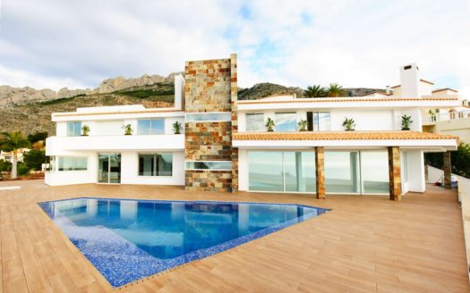 High-class Villa with panoramic views of the sea and the mountains in Altea!