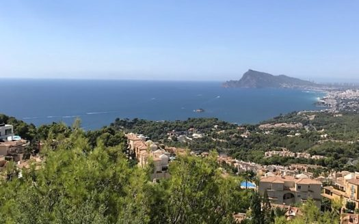 Beautiful Villa with incredible views of the sea and mountains in Altea Hills!!!