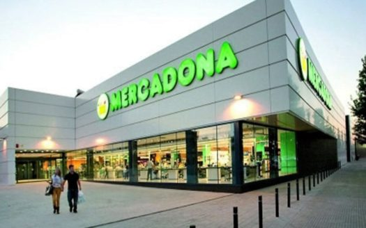 The supermarket MERCADONA in Alicante city center!