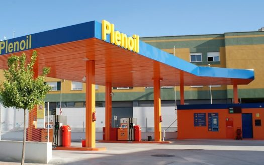 ALDI supermarket and PLENOIL petrol station!