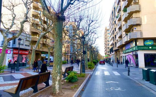 Commercial premise in the main street of Gandia!