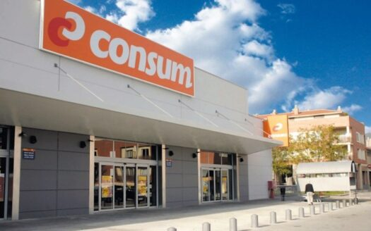 CONSUM supermarket in Alicante!