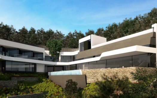 NEW luxury Villa with a unique sea view in Altea Hills!