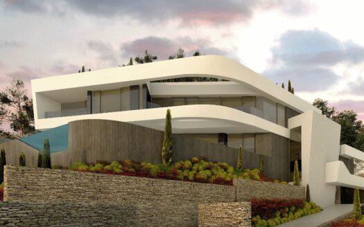 NEW luxury Villa with a unique sea view in Altea Hills!