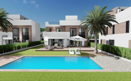 Modern and beautiful villa with pool!